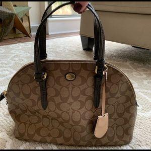 NWT Coach satchel handbag